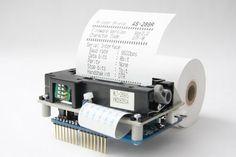 Thermal Printer Shield for #Arduino, ma ancora non esiste.