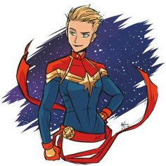 Captain Marvel Sketch by AndrewKwan on DeviantArt Marvel E Dc, Marvel Fan Art, Marvel Women, Marvel Girls, Avengers Girl, Marvel Universe, Marvel Heroines, Marvel Movies, Heroes Book