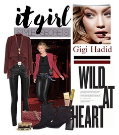 """""""GIGI HADID"""" by gizaboudib ❤ liked on Polyvore featuring Yves Saint Laurent, Tom Ford, GUESS, Jennifer Zeuner, ItGirl, mywebroom and gigihadid"""
