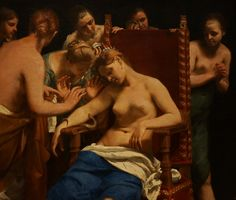 The Death of Cleopatra ca 1660 by Guido Cagnacci oil on canvas cm century Vienna Kunsthistorisches Museum Cleopatra, History Museum, Art History, Vienna Museum, Kunsthistorisches Museum Wien, Mark Antony, Renaissance Paintings, Italian Painters, Caravaggio