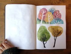 felicita sala illustration: sketchbook lately plus a little interview