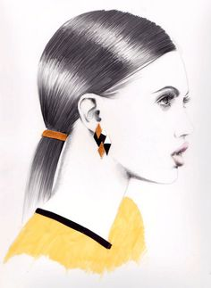 Modeconnect.com - Fashion Illustration by Anna Hammer