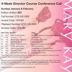 8 wk MK Director course
