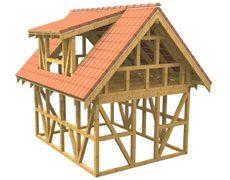 Komplett mit Dachschalung und Dach Gartenhaus-Bausatz