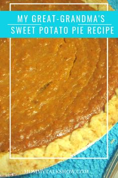 Sweet Potato Pie Recipe Passed Down by Generations My dream is to be the type of woman who can walk into a kitchen and whip up an amazing meal without a recipe. I am not that type of woman. A recipe is my crutch, my guide, and my lifeline. Homemade Sweet Potato Pie, Vegan Sweet Potato Pie, Sweet Potato Cheesecake, Sweet Potato Casserole, Sweet Potato Recipes, Canned Sweet Potato Pie Recipe, Southern Sweet Potato Pie, Black Folks Sweet Potato Pie Recipe, Köstliche Desserts