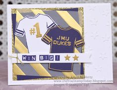 Did You Stamp Today?: Let's Go Dukes!! - Stampin' Up! Custom Tee - Fab Friday 103
