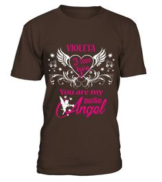 # VIOLETA GUARDIAN ANGEL .  VIOLETA GUARDIAN ANGEL  A GIFT FOR A SPECIAL PERSON  It's a unique tshirt, with a special name!   HOW TO ORDER:  1. Select the style and color you want:  2. Click Reserve it now  3. Select size and quantity  4. Enter shipping and billing information  5. Done! Simple as that!  TIPS: Buy 2 or more to save shipping cost!   This is printable if you purchase only one piece. so dont worry, you will get yours.   Guaranteed safe and secure checkout via:  Paypal   VISA…