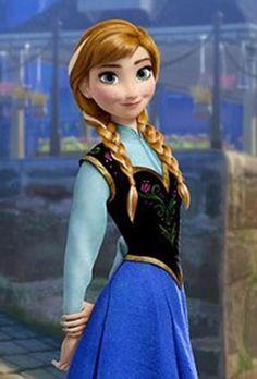 Princesa Disney Frozen, Disney Princess Quotes, Disney Princess Frozen, Anna Frozen, Frozen Movie, Kelly Macdonald, Frozen Pictures, Pictures Of Anna, Disney Stars