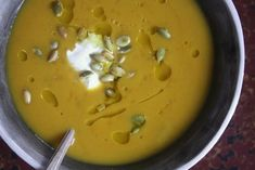 Roasted Five Spice Winter Squash Soup