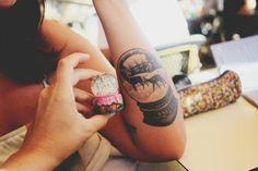 CO Springs Christmas tattoo idea 2