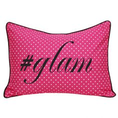 All Small Dots on Us Standard Sham (Glam) - Candy Pink