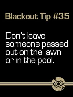 Breathe Carolina Blackout Tip #35. #BreatheCarolina