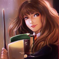 Hermione by OlchaS.deviantart.com on @DeviantArt