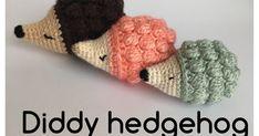 Egeltje haken / Diddy Hedgehog NL vertaling