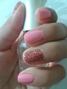 Pink nails#nailswag #nailsart #nails #colors #polish #beauty #nail