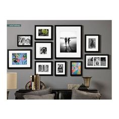 """Prinz Gallery Expressions Wood Frame, 8x10"""" Matted To 5x7"""" Photograph, Color: Black.: Amazon.ca: Home & Kitchen"""
