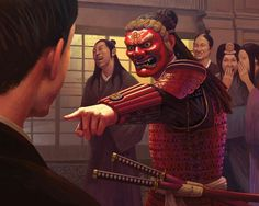 Character Concept, Character Art, Buildings Artwork, Rogue Assassin, Samurai Artwork, Stoner Art, Japanese Warrior, Oriental Tattoo, Mixed Martial Arts