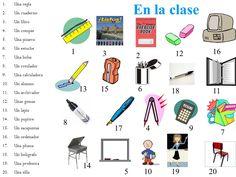 Los materiales de clase