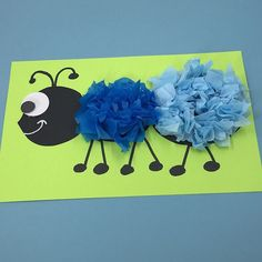 Easy Bug and Insect Crafts - Free - Key to Kinders