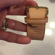 Louis Vuitton bag strap Louis Vuitton suitcase strap or bracelet Louis Vuitton Bags