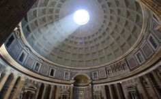 Interior of The Pantheon, Rome.