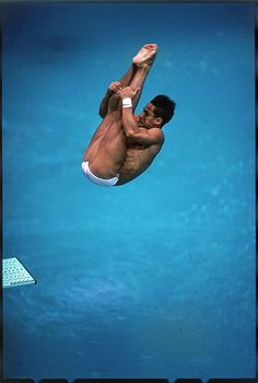 London 2012 Olympic Legend Game / Playing Card Suitable For Men Women Greg Louganis And Children Diving Humor #9c