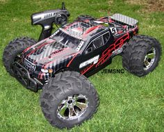 Redcat Racing RC EARTHQUAKE 3.5 1/8 SCALE R/C NITRO MONSTER TRUCK! Very Fast! For Sale through eBay Affiliate.