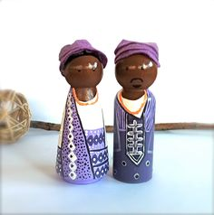 Traditional African Ethnic Wedding Attire