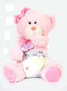 Teddy Bear Sweety 35cm in pink color for babies! #soft #teddy_bear #baby #pink