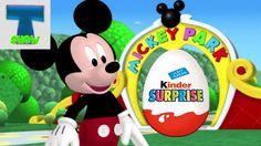 Микки Маус Клуб обзор Киндер Сюрпризов для детей Mickey mouse club toys