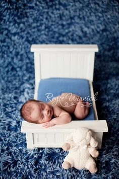 I want this Newborn Doll Bed for Photo Sessions!