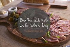 celebrating father's day | Book your table with us for Fathers Day – Sunday 19th June. Just ...