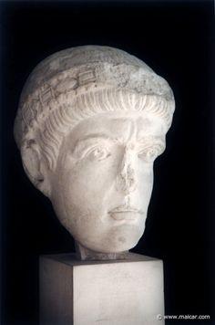 Emperor Flavius Valentinian I (321-375) Son of Gratian the Elder. Husband of Marina Severa and Justina. Reigned 11 years