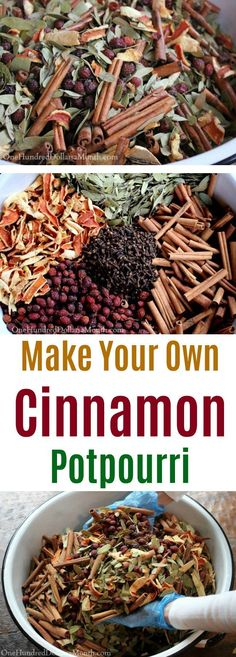 Make Your Own Cinnamon Potpourri One Hundred Dollars a Month Make Your Own Cinnamon Potpourri One Hundred Dollars a Month Judy Olson ksprairierose crafts This year I decided to nbsp hellip sticks potpourri How To Make Potpourri, Homemade Potpourri, Simmering Potpourri, Potpourri Recipes, Stove Potpourri, House Smell Good, House Smells, Homemade Christmas Gifts, Christmas Fun