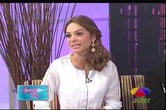 """Entrevista A La Reina De Belleza Venezolana Maira Alexandra Con Violeta Ramírez En """"Agenda VIP"""" #Video"""