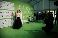 ECONYL® at the GreenTec Awards 2015 in Berlin. The Green Carpet was made by Vorwerk using ECONYL® regenerated yarn coming from fishing nets, old carpets and other pre-consumer waste. #ethical #fashion and #design #sustainability