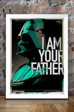 Star Wars Inspired Print Villains Series by thedesignersnursery