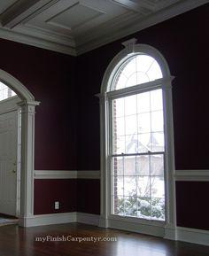 victorian tall windows