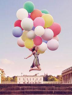 jumping balloons
