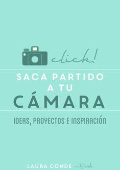 """e-book """"Clik, Saca Partido a tu Cámara""""   Miss Lavanda"""