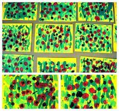 Tapaàlbum09. Educació i les TIC Tapas, Easy Art Projects, Expressive Art, Kindergarten Art, Spring Art, Art Club, Art Plastique, Flower Crafts, Art Education