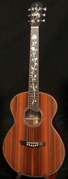 Jay Lichty custom Cocobolo 00 Guitar --- https://www.pinterest.com/lardyfatboy/