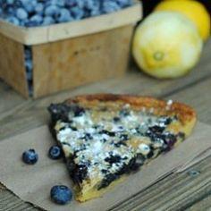 Blueberry Lemon Dutch Baby HealthyAperture.com