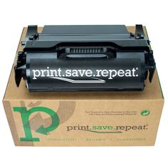 Print.Save.Repeat. Lexmark T650H21A High Yield Remanufactured Toner Cartridge for T650, T652, T654 [25,000 Pages]