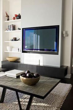 Darling Point Lounge Joinery TV Surround