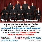 DidUSee?  #SCOTUS most Awkward moment? #MarriageEqualiity @Freedomtomarry @maddow @ac360 @HuffPofstGay @dailykos