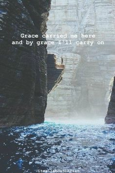 "The key word…""grace."""
