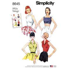 Simplicity Creative Patterns 1459 Misses and Miss Petite 1950s Vintage Dress 8-10-12-14-16 K5