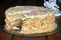 "Meringue Cake ""Wonderful Forest"" // торт - безе ""Волшебный лес"""