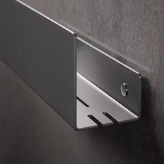 Montage, Aluminium, Door Handles, Bathrooms, Detail, Home Decor, Showers, Grey, Black